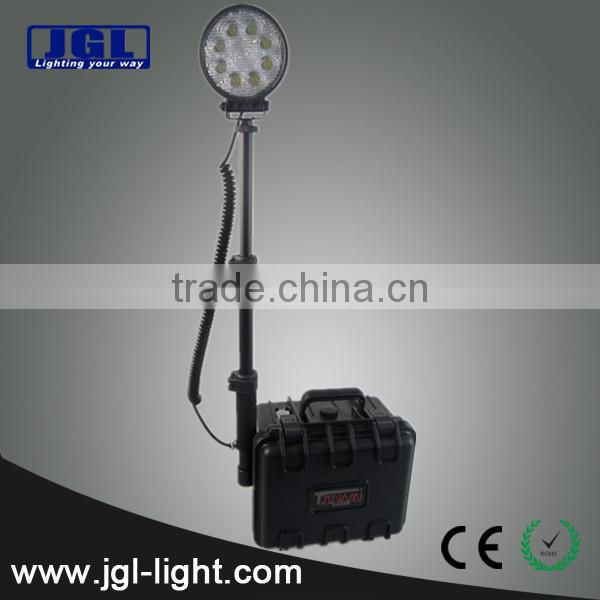 For extreme bright LED Work Light Model RLS-24W light stand remote area led work light