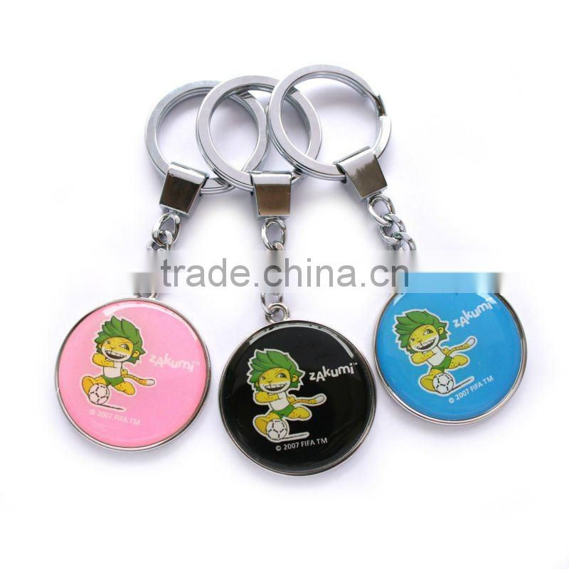 Metal keychain or metal keyring