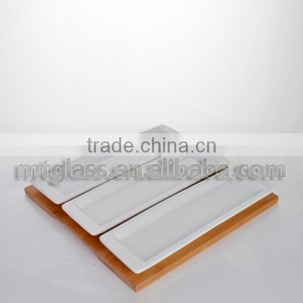 FDA,SGS,Food-grade New arrive white square porcelain china dishes