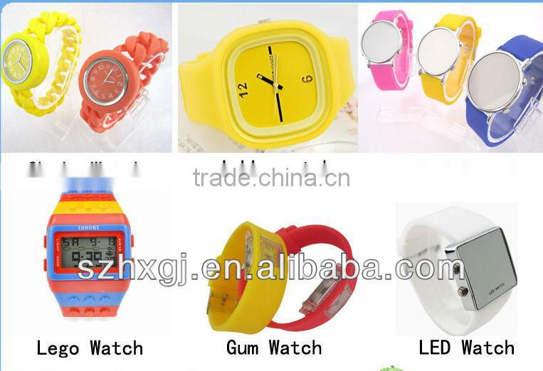 MA-1099 2013 New Arrival Hot Selling Factory Direct Sell Silicone Spy Watch