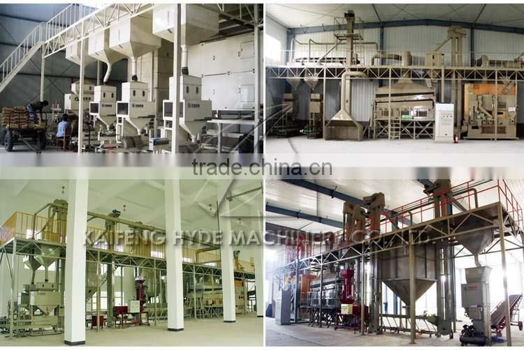 10T Wheat barley seed cleaning plant for Food bank