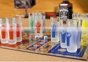 Drinking Chess/Drinking game/ Granking chess/ Glass game/ Drinking glass game/ Dranking glass chess set