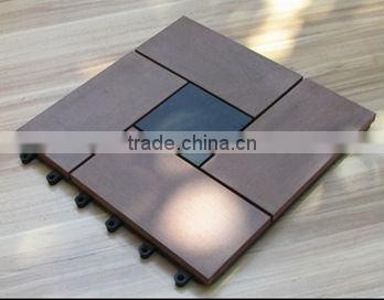 Easy Install Recycled 100% wpc building materials hall floor tiles