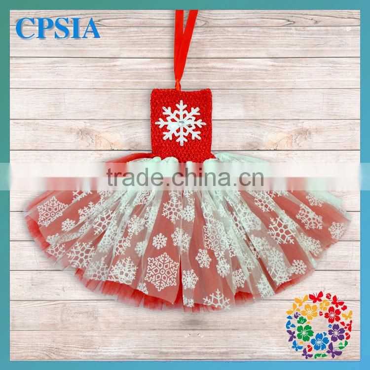 New Arrival Wholesale Lovely Tulle Summer Girls Snowflake Tutu Dress Snowflake Princess Costume
