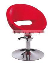 2015 hot sale red leather hair salon chair for sale
