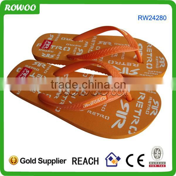 Fashion Turq customize Jelly flip flops