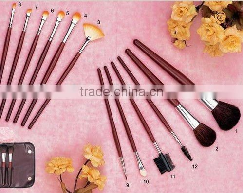 comestic brush set and makeup brush set