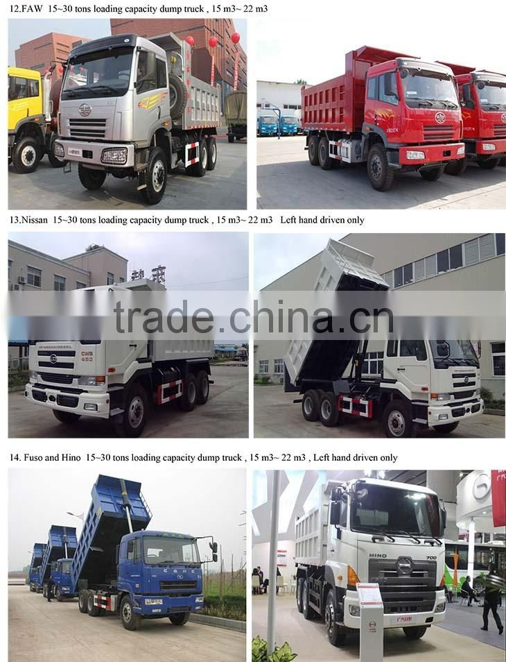 Dump truck supplier, fuel consumption of dump truck