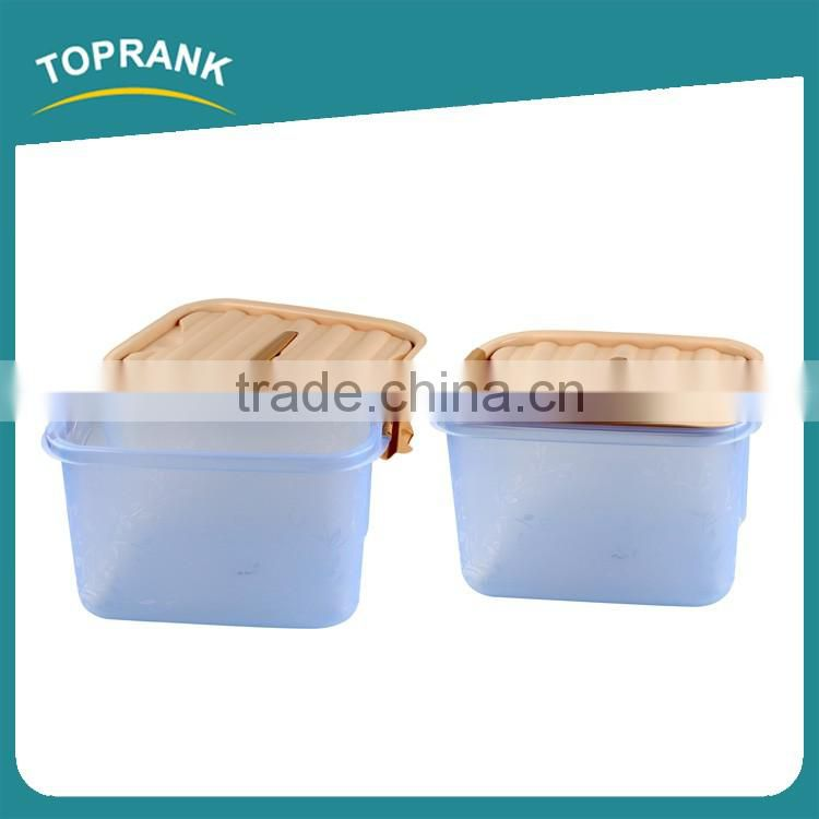 Toprank New Product Household Multi-function Large Size Clear Plastic Storage Box Sundry Clothes Storage Box With Lid