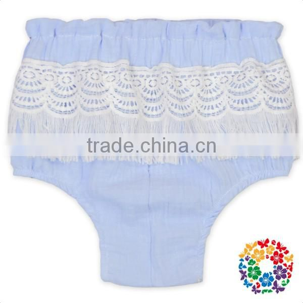 Infant And Toddler Tassel Bloomers For Kids Baby Plain Diaper Cover