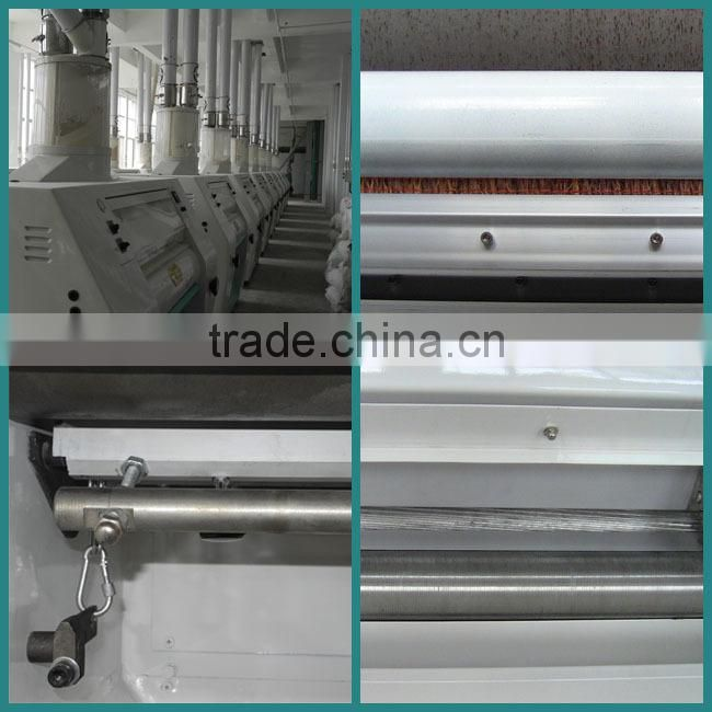 Commercial Wheat Washer fully automatic flour machine Wheat Flour Mill Line
