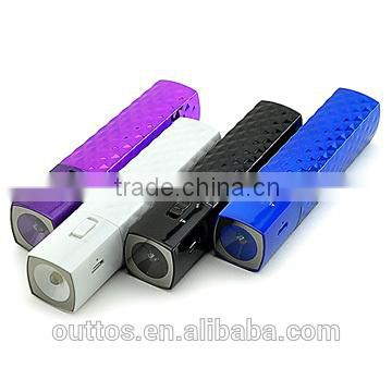 china supplier 2600mah power bank 2600mah manual for power bank