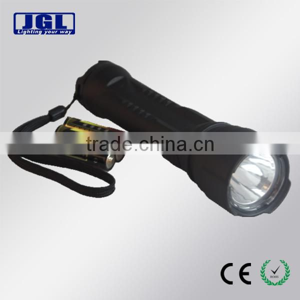 led Area industrial safety flashlight rechargeable portable police security flashligh 9913