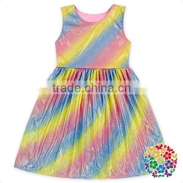 Wholesale Toddler Girls Summer Boutique Dress And Shorts Clothes Set New Fabric Kids Outfits
