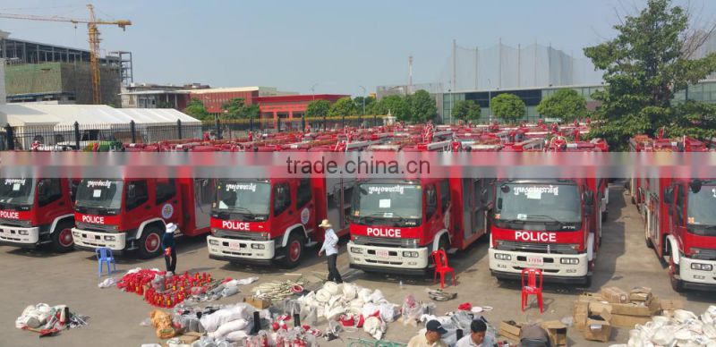 Used / Brand New High Quality 4*2 CLW Fire Fighting Truck