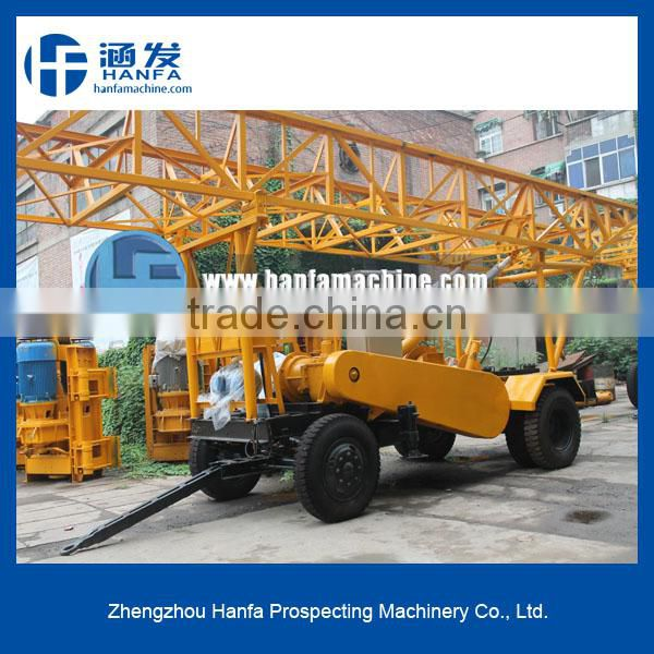 High drilling efficiency! High power! S400 trailer-hitched concrete core drilling machines