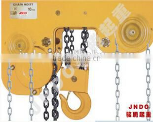super low hanging chain hoist 5ton 3m