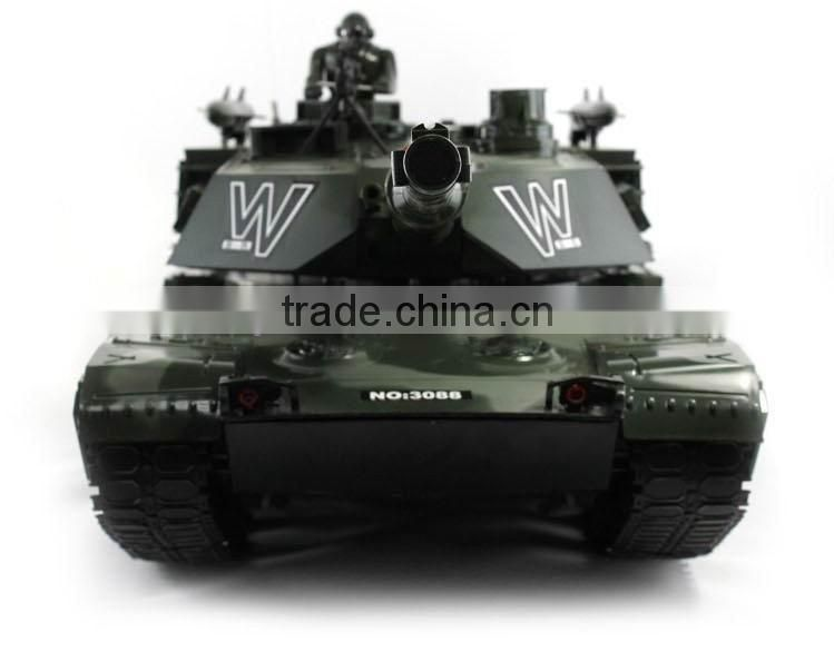 biggest rc tank 1/6 with light and launch BB shells