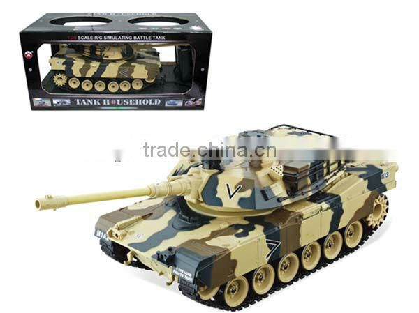 US rc airsoft battle tank rc battle tank US M1A2 RC Tank 1:20 rc tank