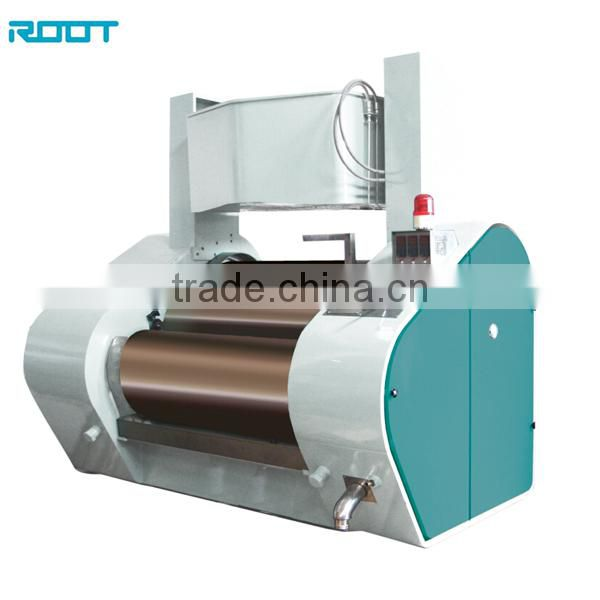 Hydraulic three rolls mill for offset ink