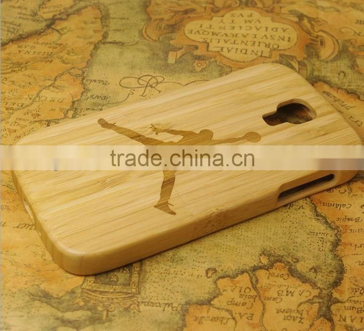 2013 high quality bamboo phone case phone cover