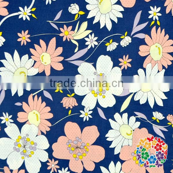High quality 100% cotton printed fabric ,apparel fabric,cotton yarn dyed shirt grey fabric for children frocks designs