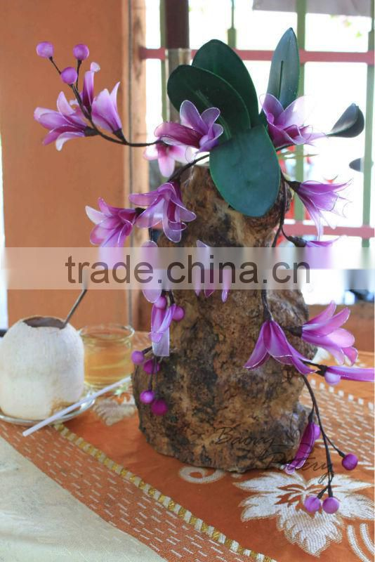 Vietnam wooden planter, Planter from tree root