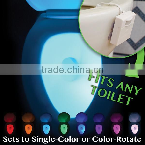 Motion Activated led Toilet Light bowl light soft light fit any toilet