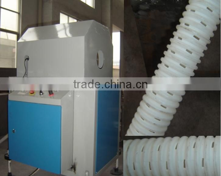 plastic pipe drilling machine