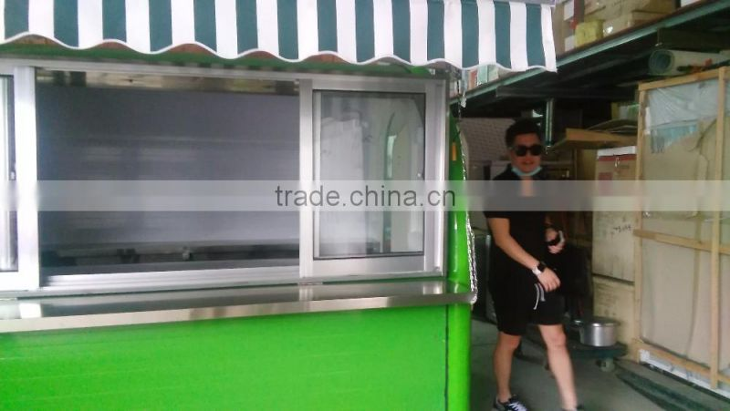 Hot sale stainess steel food cart, Customized food selling cart, food carts for sale FC3
