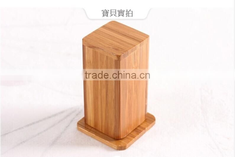 Natural bamboo color tableware antique toothpick holder