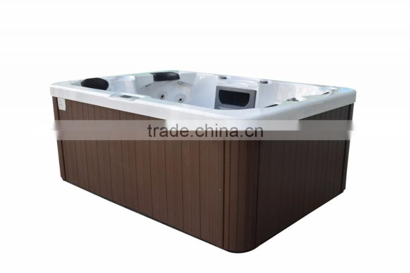 cheap jet whirlpool bathtub for 3 persons