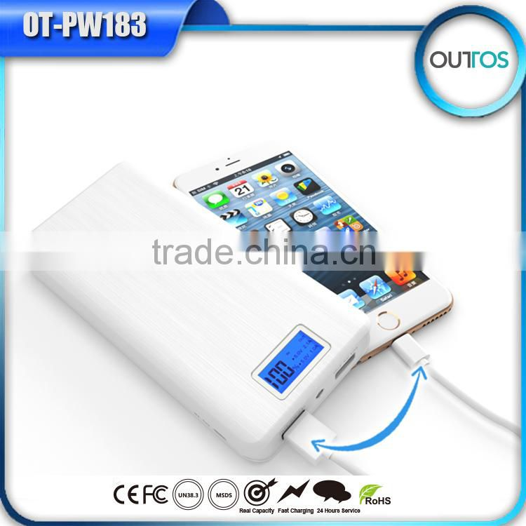 Top Quality High Capacity Ultraslim Powerbank 16000mAh