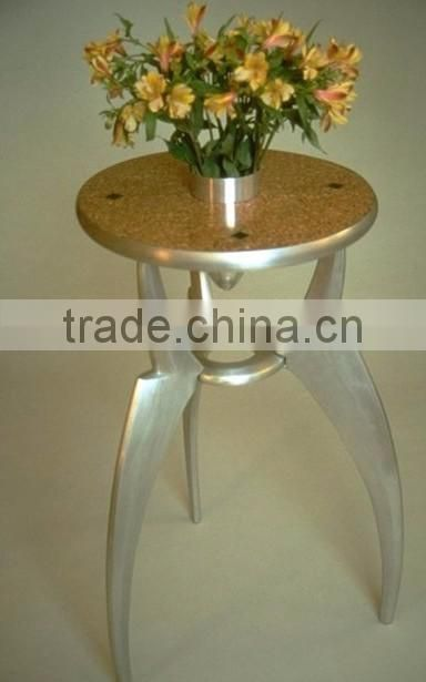 copper antique hammered fancy metal stool