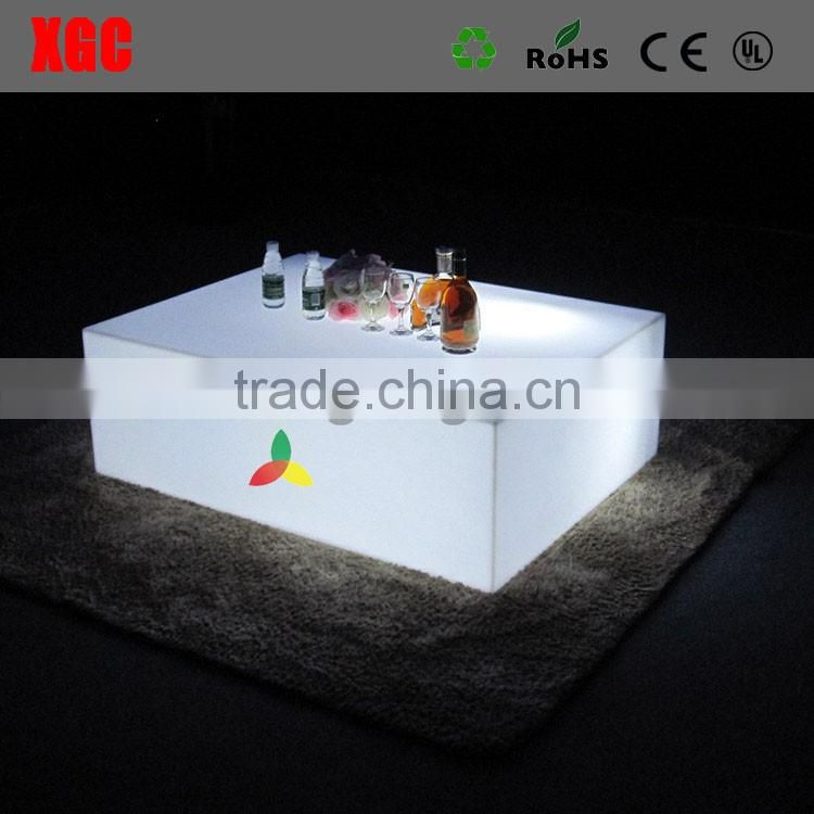Glowing Led Cocktail Table beautiful LED color changing illuminated table