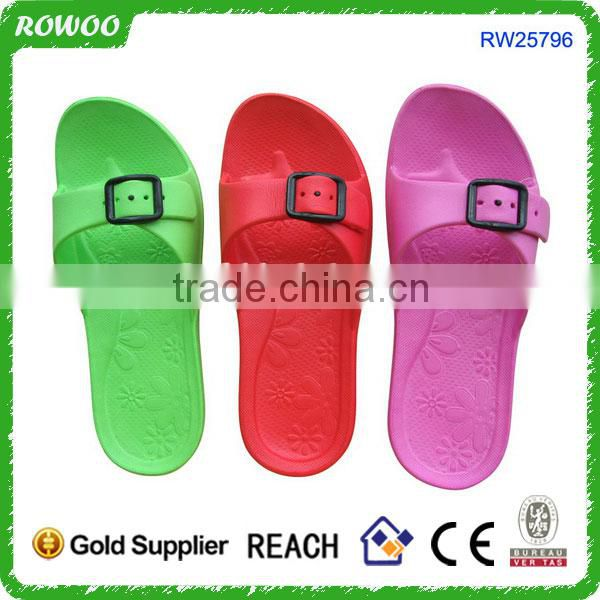 Slip-On Style and PVC Hollow flip flop slipper