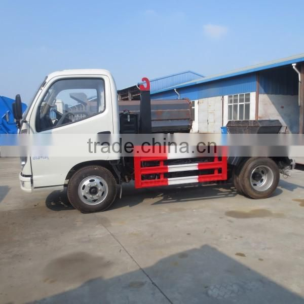 82hp 4*2 FORLAND Hook Lift Waste Truck 3-4 m3