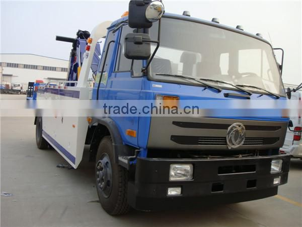 dongfeng 6 wheels under lift wrecker tow truck 180HP