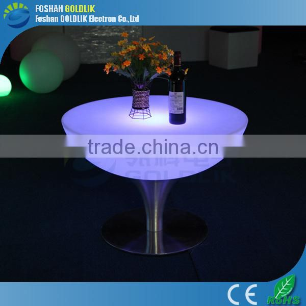 Light up led patio furniture with multi color changing GKT-056DK