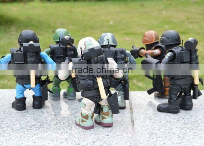 military army soldier custom action figure ,make custom action figure factory,Customize plastic soldier action figures