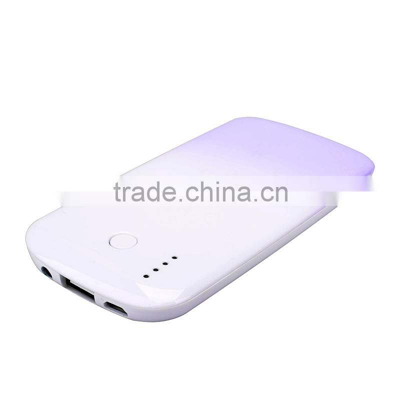 Guangdong 4000mah slim rohs new portable power bank