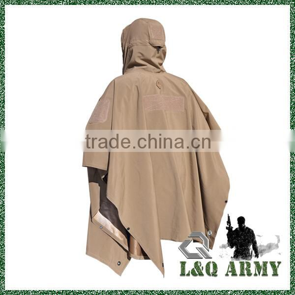 Elegant Outdoor Technical Soft-Shell Poncho 2014