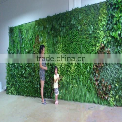 China hot sale artificial handmake plant wall for decoration