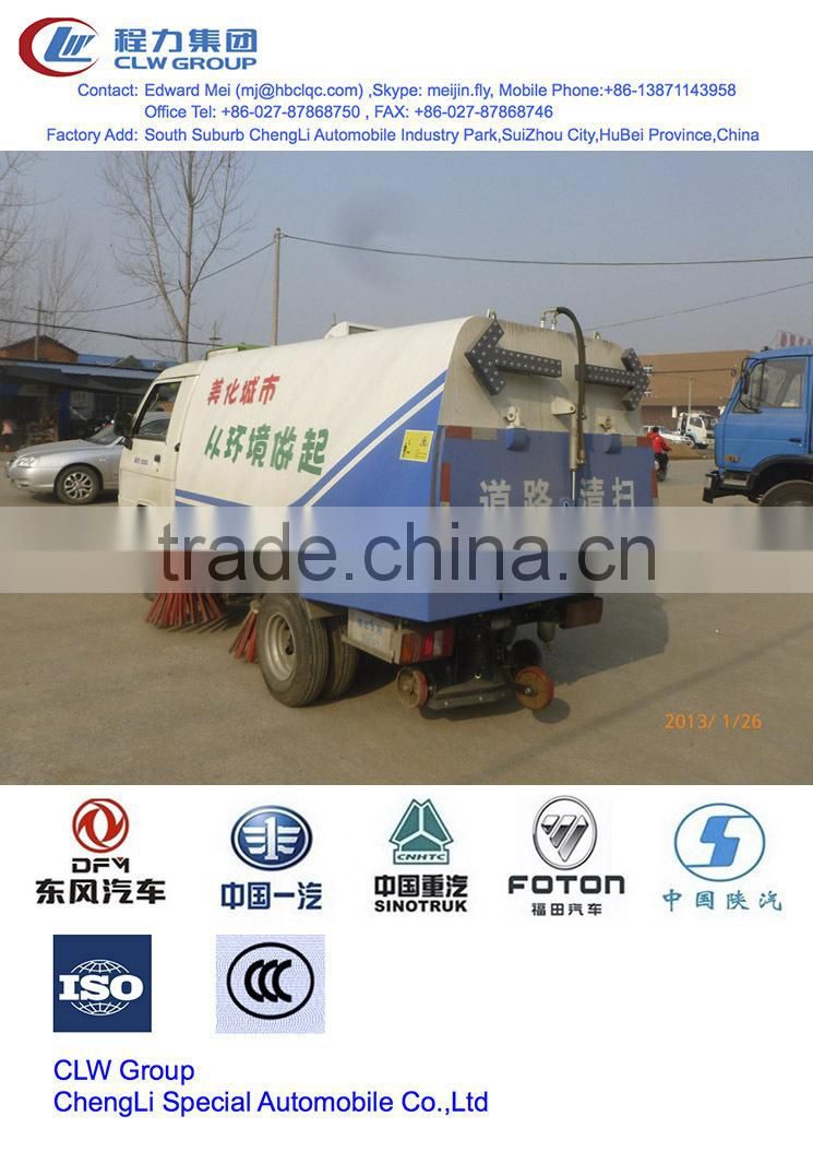 foton 2 T pto road sweeper