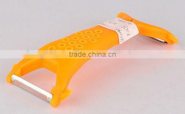 Multifunction promotional plastic handle paring knife