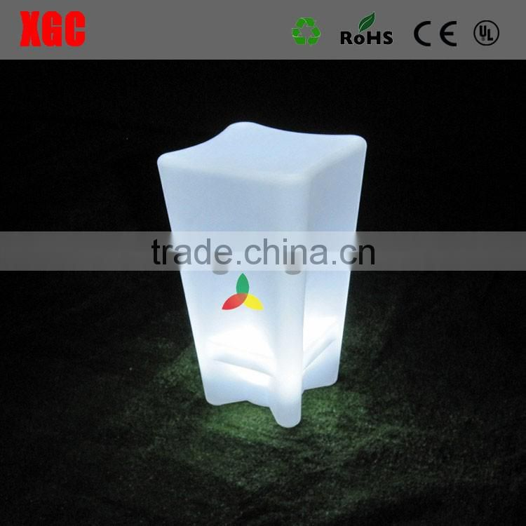 2019 China cheap price glow led outdoor furniture GF312