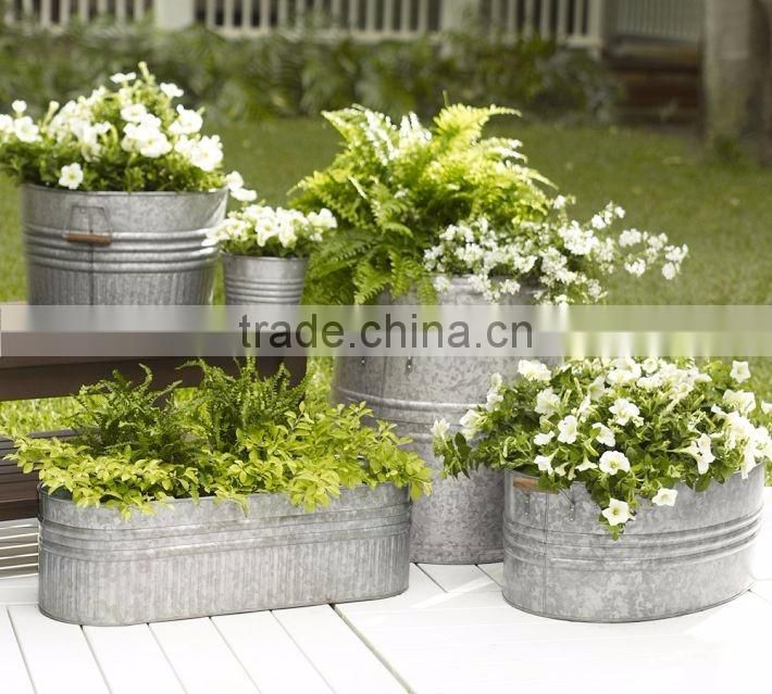 brass antique decorative planters for home decor
