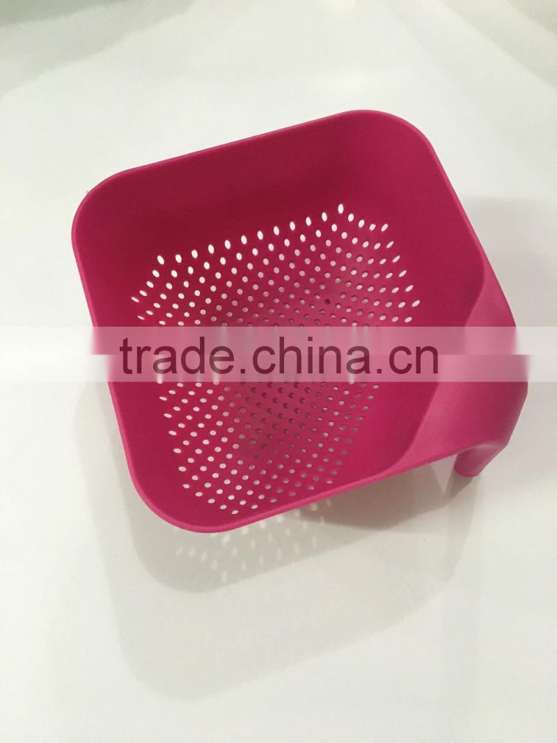 2016 Hot Sales PP Plastic Colorful Foldable Household Colander