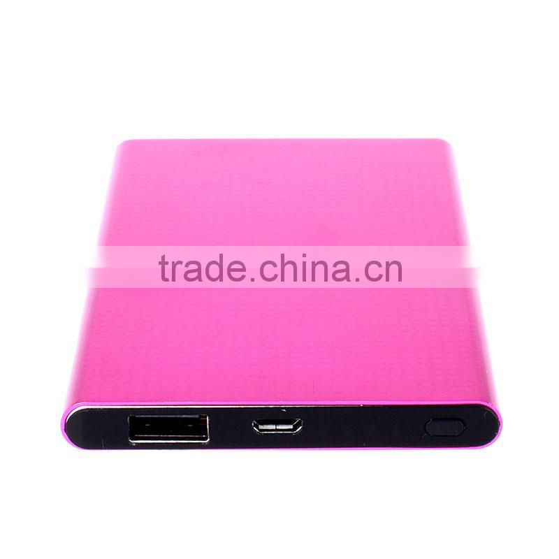 factory price universal smart portable power bank for phone
