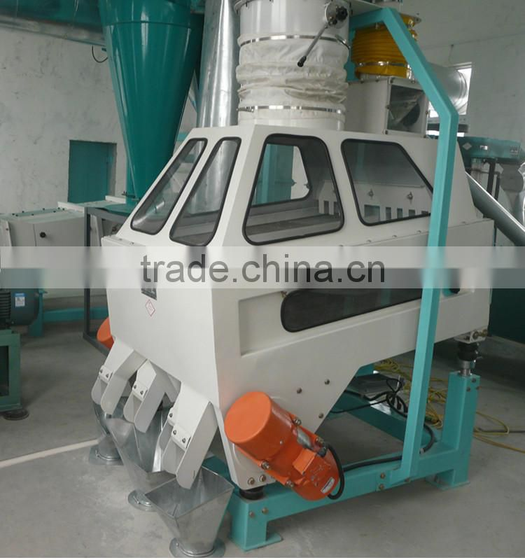 High effective TQSF series gravity rice stone remover